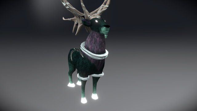 The Forest Spirit Viggo 3D Model