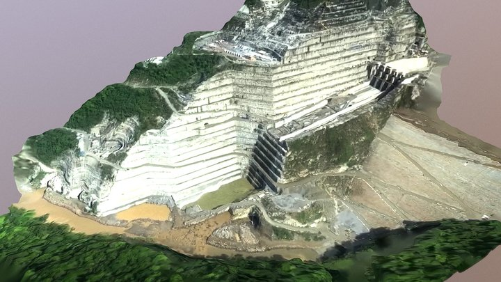 Hidroituango hydroelectric power plant 050918 B 3D Model