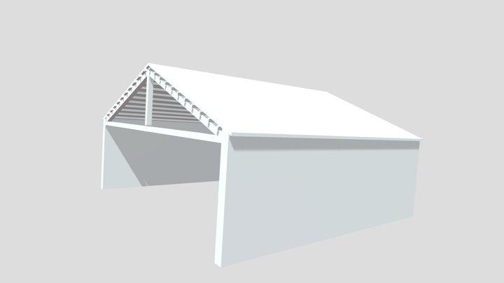 Buildings technologies - roof - 004 3D Model