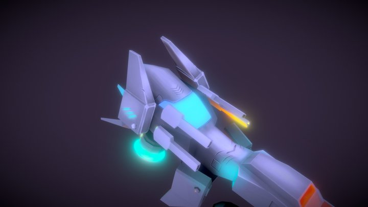 Space Sheep 3D Model