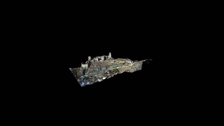 Khertvisi Fortress 3D Model