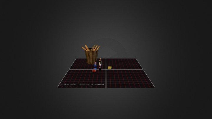 Props_Extras 3D Model