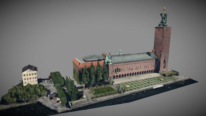 Stadshuset - maximal detaljnivå 3D Model