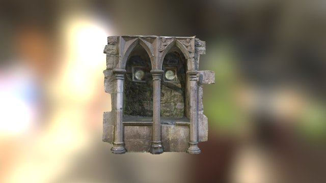 Rosserk Abbey, Co. Mayo - Piscina. 3D Model