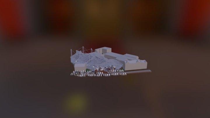 Plaza (Urban design) 3D Model