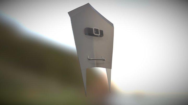 Uruk-hai Shield 3D Model