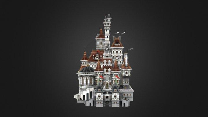 White castle 3D Model