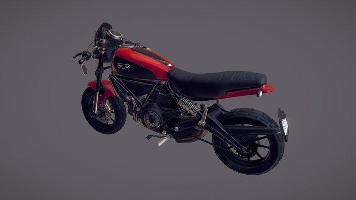 Ducati Scrambler Icon 3D Model