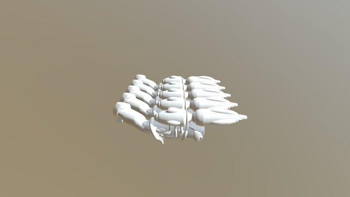 Embrace Arm Fused SW5 3D Model