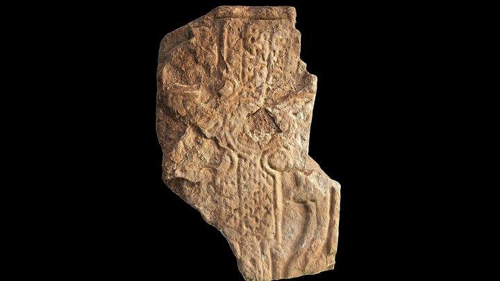 Pictish Cross Slab, Newark Bay, Deerness, Orkney 3D Model