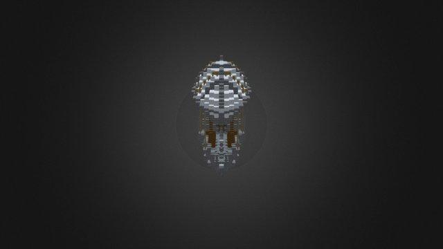 Steampunk Balloonship 3D Model