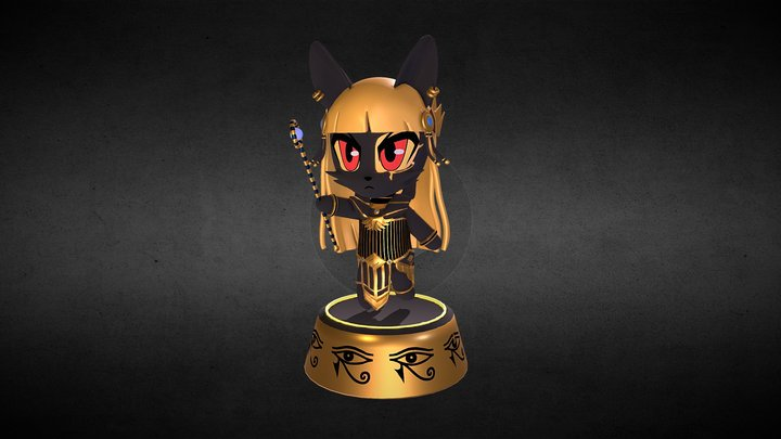 Anubis OC by BurgerKiss 3D Model