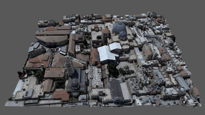 Church of the Holy Sepulchre 3D Model