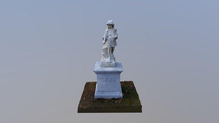 Oakland Cemetery - Robert Lewis Barnett 3D Model