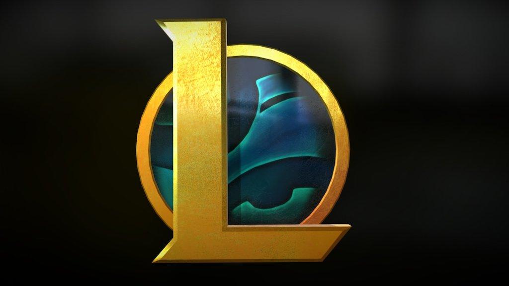League Of Legends New Logo 3d Model By Zemasu At Zemasu