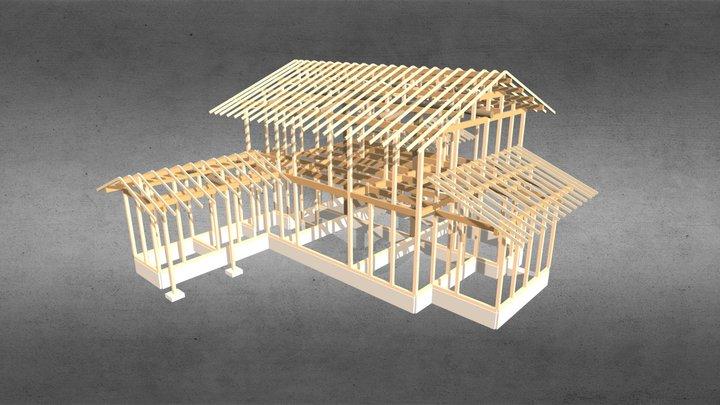 2013w U邸(滋賀)b.i.n木村敏建築設計事務所 3D Model