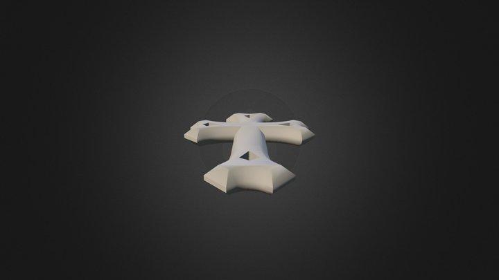 East Syriac Cross 1 3D Model