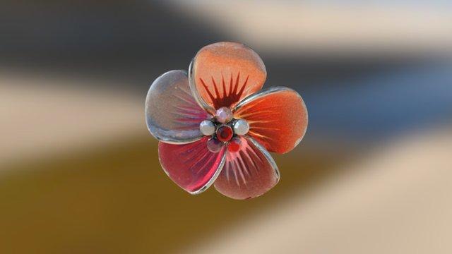Blumenanhänger 3D Model