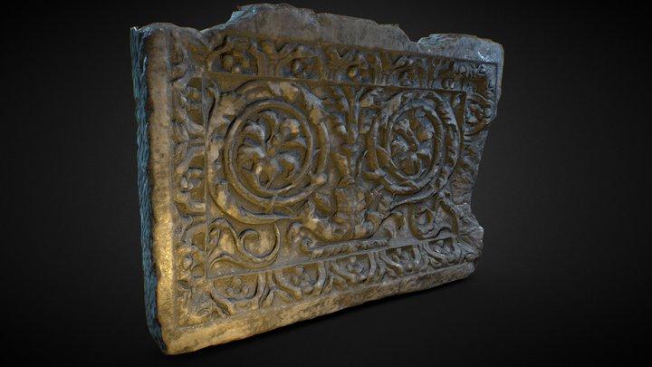 Roman decorated plaque 3D Model