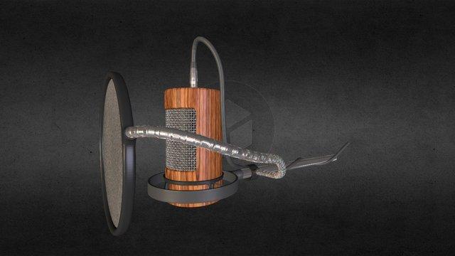 Mikrofon txt1 3D Model