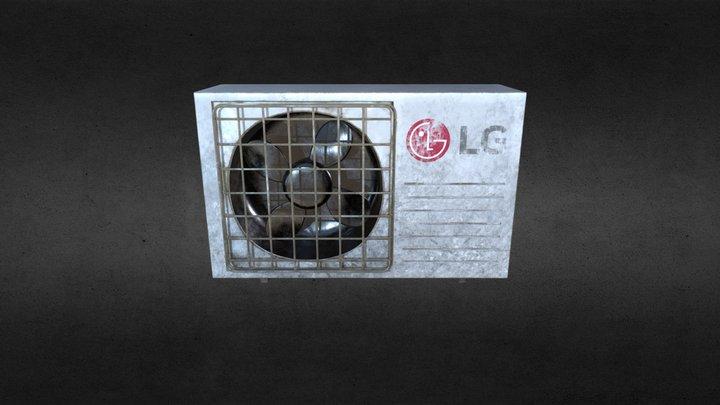 Split Conditioner System LG 3D Model