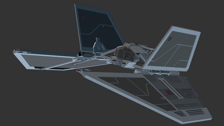 Supremacy-Class Starfighter 3D Model