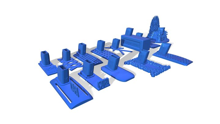 Hi-CAPA - CUSTOM STAND STL For 3d printing 3D Model