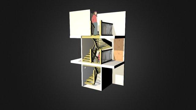 Schody 3D Model