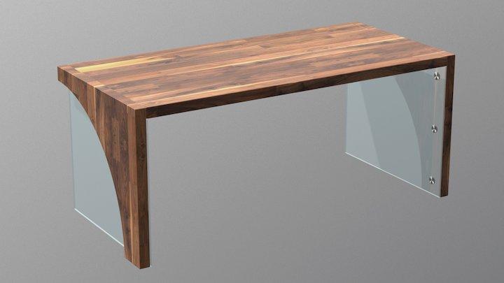Desk 05 3D Model