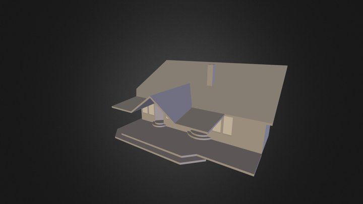 Roof Deck Option 1 3D Model