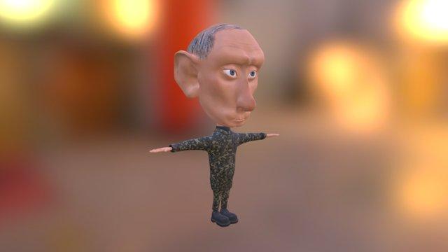 Drunk PutIn Game 3D Model