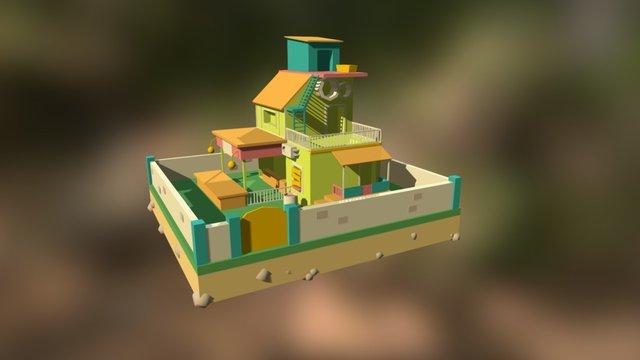 House of Light (Colored v1) 3D Model