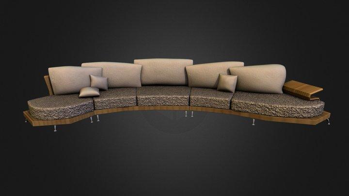 Test _ Sofa Lounge 3D Model