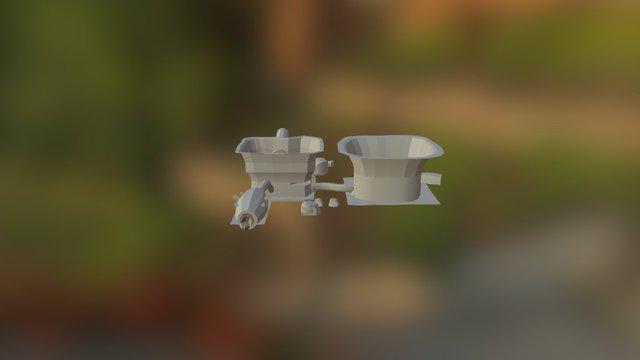 Waterfall - 2 3D Model