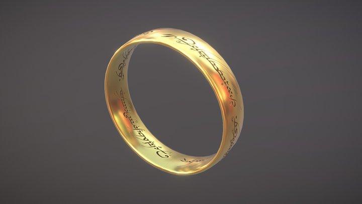 One Ring 3D Model