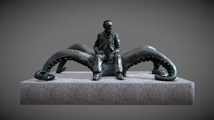 Monumento a Julio Verne (Vigo) 3D Model