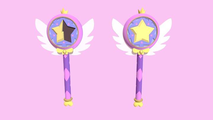 Star Butterfly's wand 2.0 3D Model