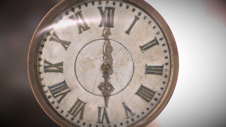 Reloj Antiguo 3D Model