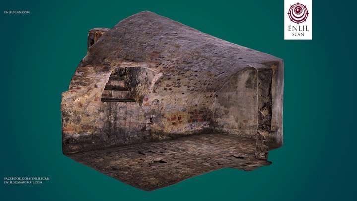 Medieval Dungeon - Room 2 - Photogrammetry 3D Model