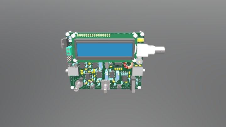 QCX CW transceiver 3D Model