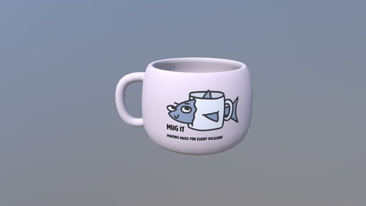 Lab Mug 3D Model