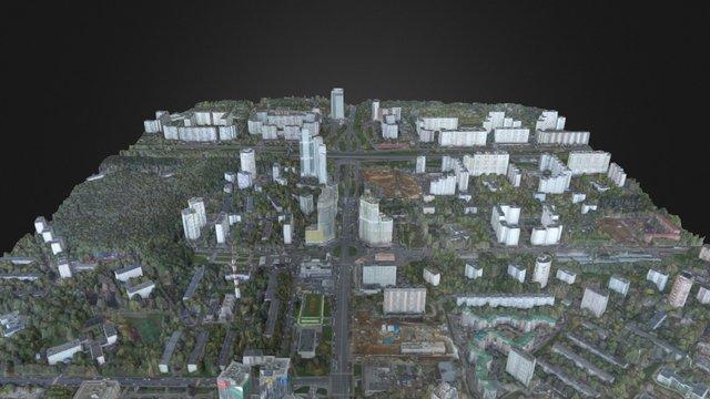 Рублевское шоссе, 101. 02.10.2015 3D Model