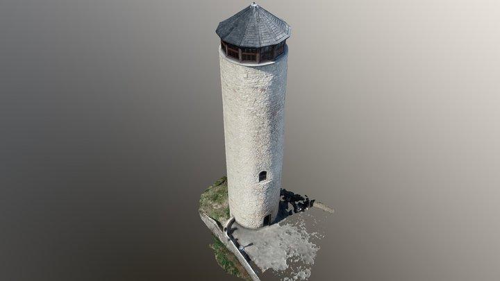 Fuchsturm Jena 3D Model