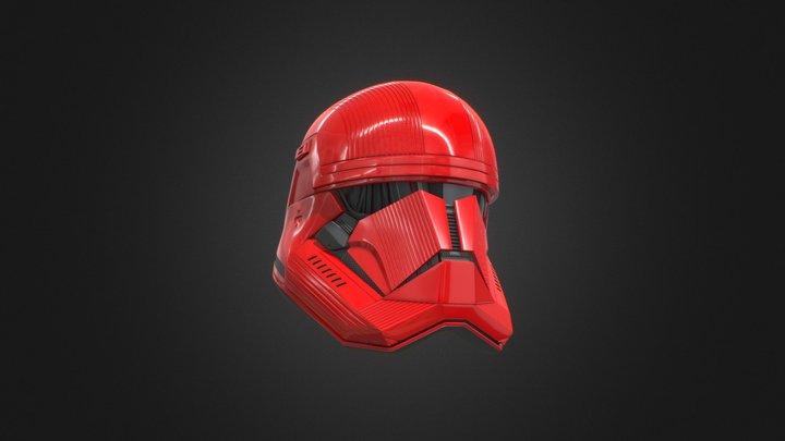 Sith Trooper Helmet 3D Model