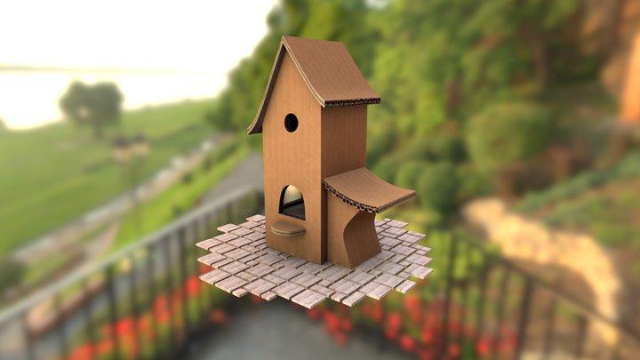 Bird-house 3D Model