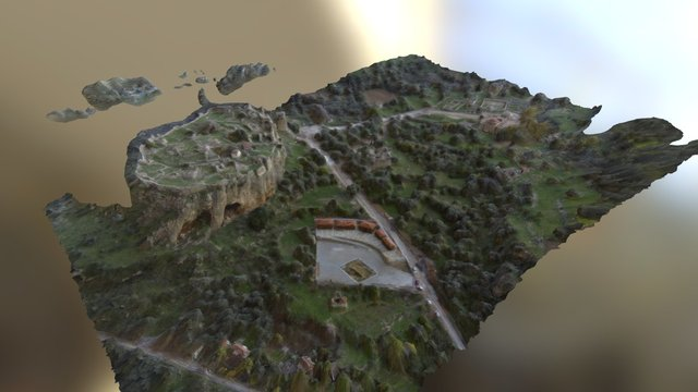 Beçin Giriş 3D Model