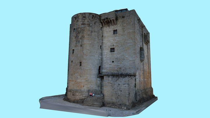 Torre del Homenaje - Puebla de Sanabria 3D Model