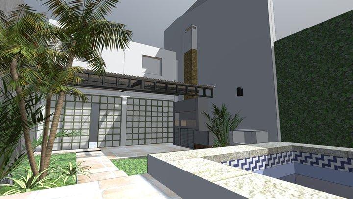 Intervención Patio Liliana 3D Model