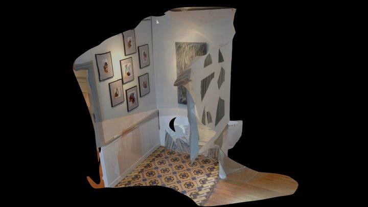 maisonpana3couloirok 3D Model