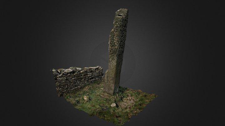 Braehead Standing Stone, Westray 3D Model